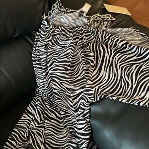 Zebra shirt by  MK